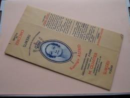 SUIKERIJ Koningin ASTRID ( M. Quartier Roeselare) CHICOREE Karton + Folder Nieuwstaat ( Zie Foto´s Voor Detail ) ! - Publicités