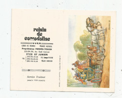 G-I-E , Calendrier , Petit Format , 1990 , Restaurant RELAIS DE COMODOLIAC , Saint JUNIEN , Haute Vienne - Petit Format : 1981-90