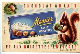 BDV3 Lot De 3 Buvards  Chocolat Menier - Alimentaire