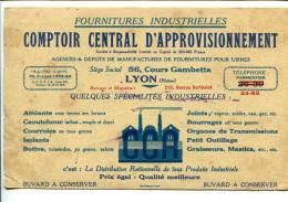 BDV3 Buvard Lyon Rhone, Comptoir Central D'approvisionnement Produits Industriels - Other