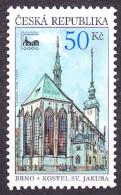 CZECH REPUBLIC 2000, Complete Set, MNH. Michel 244. BRUNN 2000. Good Condition, See The Scans. - Ungebraucht