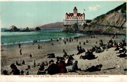 Cliff House & Beach San Francisco USA - San Francisco