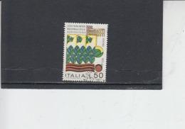 ITALIA  1973 - Sassone 1205° - Esposizioni - Agricoltura - 1946-.. République