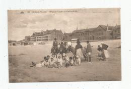 Cp ,62 , BERCK PLAGE , Hôpital CAZIN Et ROTHSCHILD , ânes , Voyagée 1931 - Berck