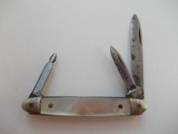 - Couteau. Canif - Petit Couteau Multi Lames - - Couteaux