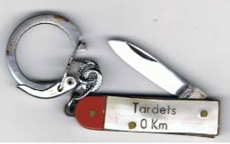 Porte _clé     Pays Basque     Tardets  0 Km   40 Mm X 10 Mm  Plié - Armes Blanches
