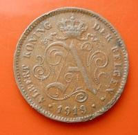 Belgium 2 Centimes 1919 - 1909-1934: Albert I