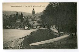 Ref 199 - REMIREMONT - Vue Prise De La Roche De L'Arma - Remiremont