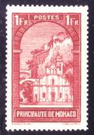 Monaco - Paysages De La Principauté - Eglise Ste Dévote - N° 126 Neuf Sans Charnière. - Monaco