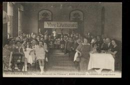 BTE09. Curiosa. Vive L'Ariégeoise, Banquet Ariègeois à Bron Dans Le Rhône - Frankreich