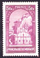 Monaco - Paysages De La Principauté - Eglise Ste Dévote - N° 132 Neuf Sans Charnière. - Monaco