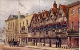 SALMON ART - QUATREMAIN 590 - YE FIVE GABLES STRATFORD ON AVON - Stratford Upon Avon