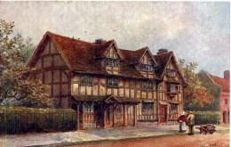 SALMON ART - QUATREMAIN 645 - SHAKESPEARE'S BIRTHPLACE STRATFORD ON AVON - Stratford Upon Avon