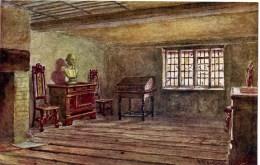 SALMON ART - QUATREMAIN 662 - SHAKESPEARE´S BIRTHPLACE, BIRTHROOM STRATFORD ON AVON - Stratford Upon Avon