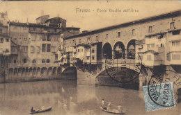 Italie - Firenze Florence -  Ponte Vecchio Sull'Arno - 1912 - Firenze