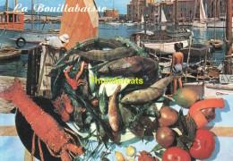 CPSM LA BOUILLABAISSE RECETTE - Recettes (cuisine)