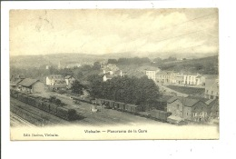Vielsalm Panorama De La Gare - Vielsalm