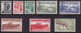 Papua New Guinea 1958-60 Sc 139-46 Mint Never Hinged (139, 144 Light Hinge) - Papua New Guinea