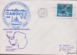 GERMAN ANTARCTIQUE  NORTH VICTORIA LAND - Franse Zuidelijke En Antarctische Gebieden (TAAF)