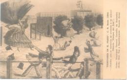 PEINETONES EN EL PASEO - PEINTURE PAINTING PINTURA C. H. BACLE AÑO 1834 MODA MODE - Mode