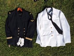 BEL ENSEMBLE OFFICIER AERONAVALE MARINE à Voir ......... - Uniforms