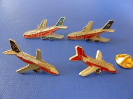 Lot 4 Pin's Boieng B737 B747 - Constructeur (Z38) - Airplanes