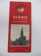 MICHELIN - Guide Régional Alsace, Hautes Vosges 1935-1936 - Michelin (guides)