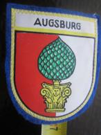 AUGSBURG DEUTSCHLAND ALLEMAGNE STOFFABZEICHENAUF-en Feutrine ÉCUSSON BLASON TISSU Brodé Autre Collection - Stoffabzeichen