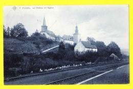 * Fumal (Braives - Liège - La Wallonie) * (SBP, Nr 7) Le Chateau Et L'église, Chemin De Fer, Kasteel, Castle, Rare, Old - Braives