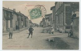 51 - HAUTEVILLE - Rue Haute - 1907 - Rare - Other Municipalities