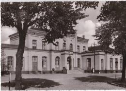 Ansichtskarte Aus Preußisch Stargard (Starogard Gdanski) -Bahnhof- - Westpreussen