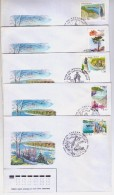 1998 Russia Stamps Regions Of Russia Federation FDC - 1992-.... Fédération