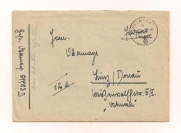 Feldpost-Brief Samt Original-Inhalt 17.6.1944 Von FP-Nr. 59983 B Von Rußland Nach Linz/Donau Ostmark - Covers & Documents
