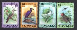 AP418 - TUVALU , Birds Serie N. 59/62 Used - Tuvalu