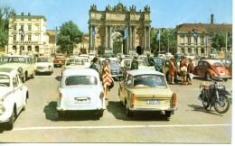 ALLEMAGNE - LA PORTE DE BRANDEBOURG - VEHICULES ANCIENS - Deutschland
