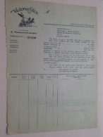 VICTORIA SHOE Schoenfabriek HERENTHALS / E. Peelaers-Hendriekx ( Blanco Vooraan / Achterzijde Zie Foto's ) ! - Otros