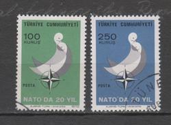 Yvert 2021 / 2022 Oblitéré OTAN - 1921-... Republic