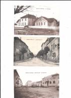 PARAY-le-MONIAL --Lot De 3 Cpa  : Dispensaire , Coopérative ,Avenue De La Gare - Paray Le Monial