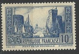 """YT 261 """" Port De La Rochelle """" 1930 Neuf**"""