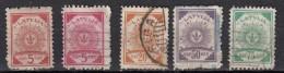 Lettonie  Républiaque 1919  5 Valeurs - Lettonie