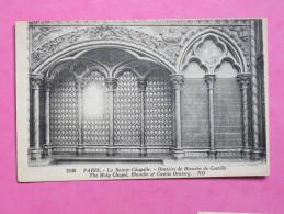PARIS - La Sainte Chapelle Oratoire De Blanche De Castille - Churches