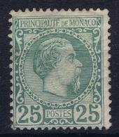 Monaco:  Nr 6  MH/* Falz/ Charniere 1885 - Monaco