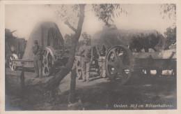 Österreich 30,5 Cm Mörserbatterie  Fotokarte - Weltkrieg 1914-18