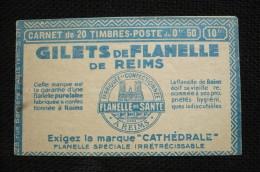 Couverture Carnet Vide Gilets Flanelle Reims - Carnets