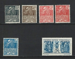 """YT 270 à 274 + 271a """" Expo Coloniale """" 1930-31 Neuf**"""