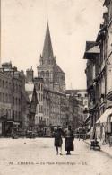 1673. CPA 14 LISIEUX. LA PLACE VICTOR HUGO - Lisieux