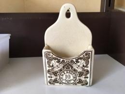 Rare Pyrogene En Faience Fives Lille - Fin 19eme - Loi Du 2 Août 1872 - Manufactures De L´état - Pyrogenes