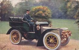 Celebrities Of The Motoring World , TUCK , PU-1905 ; Sir Thomas Lipton - PKW