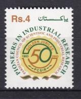 PAKISTAN, 2003, Council Of Scientific & Industrial Research,   1 V, MNH, (**) - Pakistan