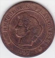 France 5 Centimes 1897 - France